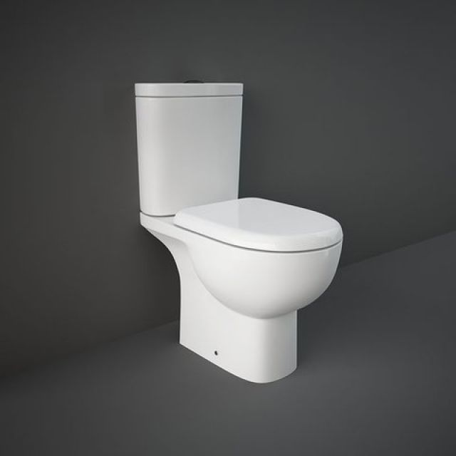 RAK Tonique Open Back Close Coupled Toilet Suite