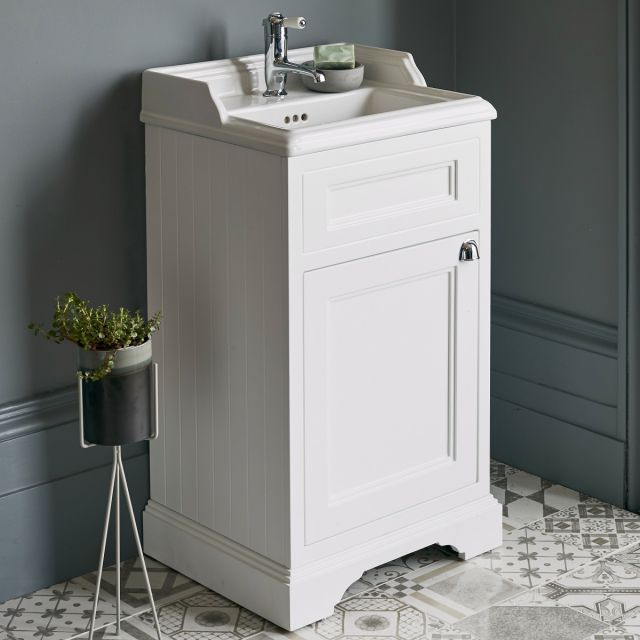 Burlington 50cm Floorstanding Vanity Unit