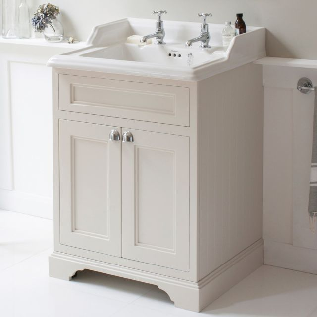 Burlington 65cm 2 Door Vanity with Classic Basin