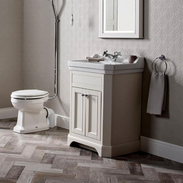 Tavistock Vitoria Freestanding Vanity Unit and Basin