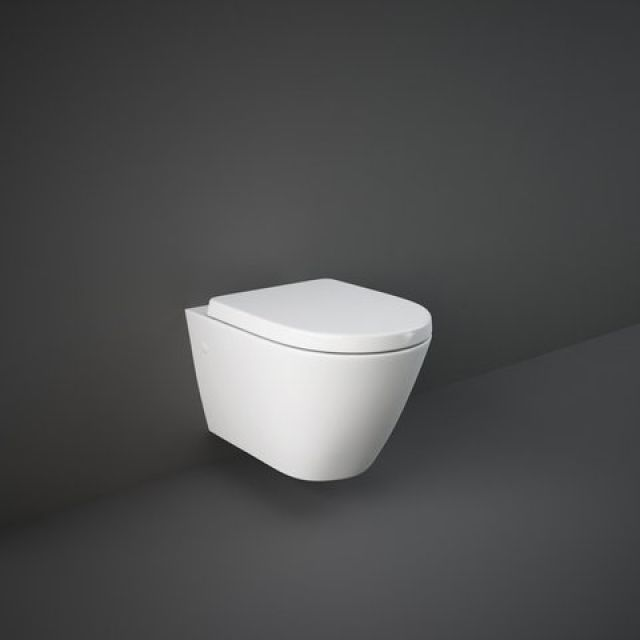 RAK Resort Wall Hung Rimless Toilet with Seat