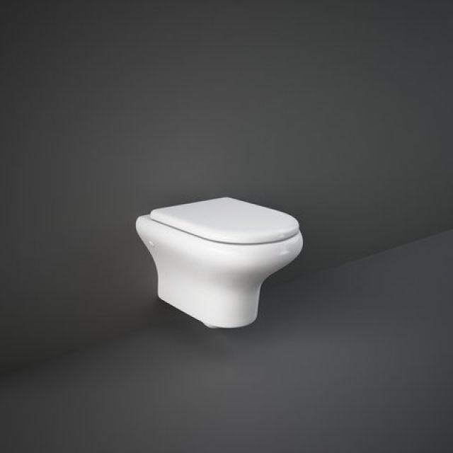 RAK Compact Wall Hung Rimless WC - COMWHPAN-HF/SC