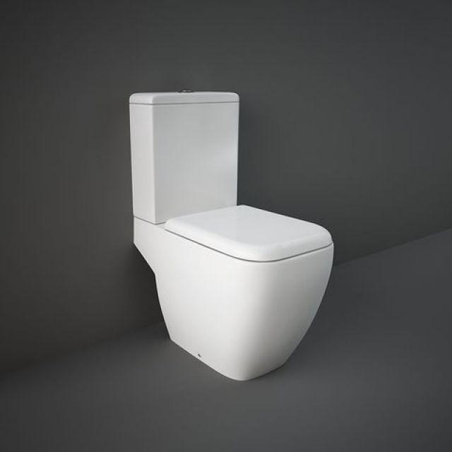RAK Metropolitan Close Coupled Open Back WC