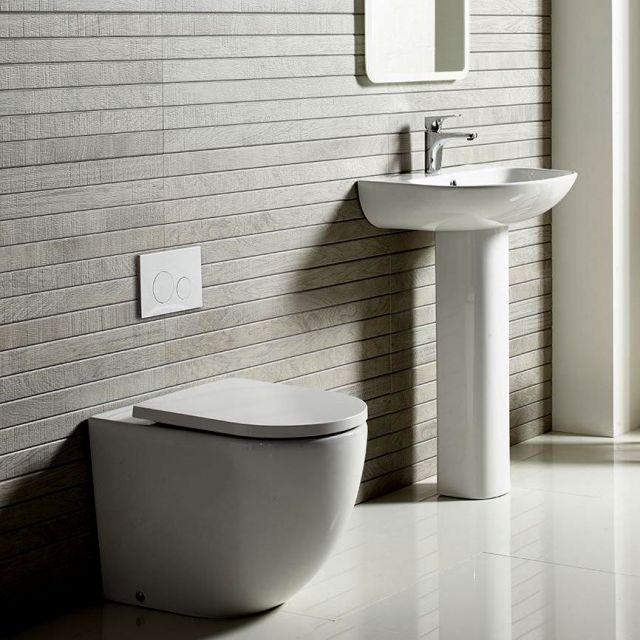 Tavistock Orbit Back to Wall Rimless Toilet - BTW250S