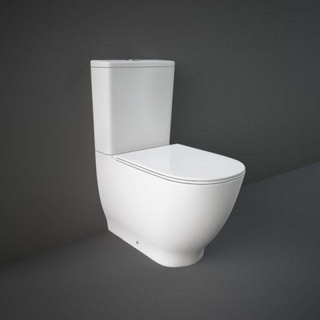 RAK Moon Close Coupled Back to Wall Toilet Suite - HARPAKSC