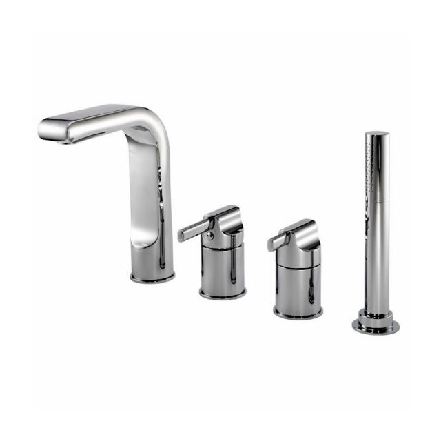 Pegler Panacea 4 Hole Bath Shower Mixer Tap