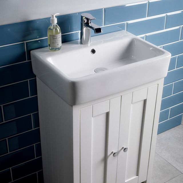 Tavistock Lansdown 575mm Freestanding Vanity Unit with Basin