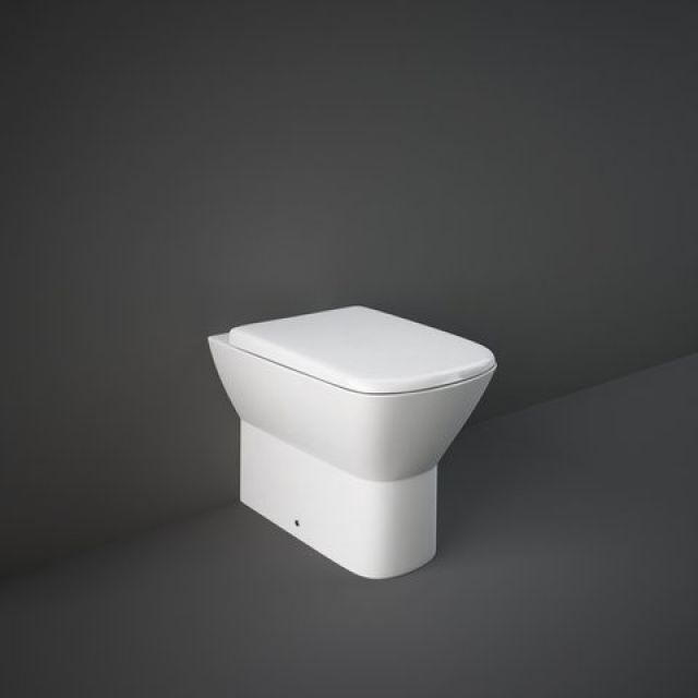 RAK Summit Back to Wall Toilet Pan with Seat
