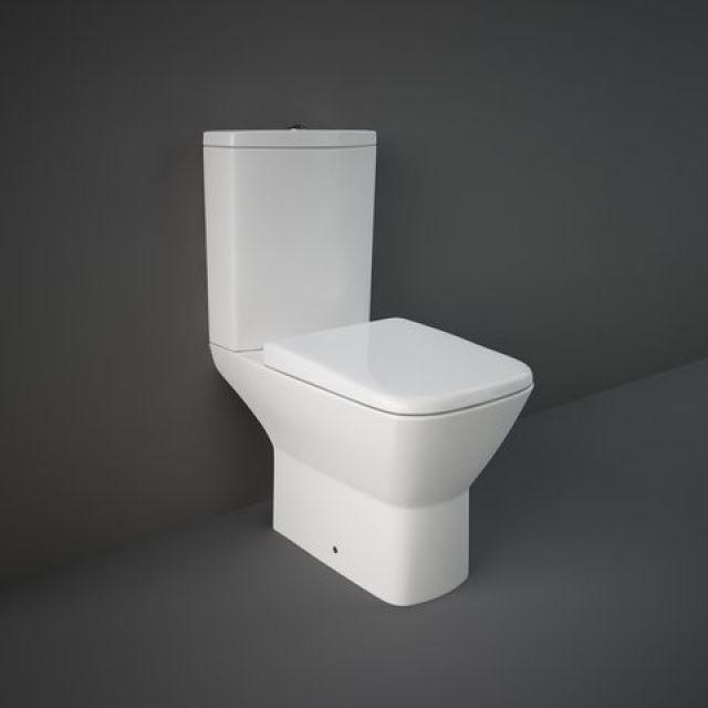 RAK Summit Close Coupled Open Back Toilet Suite - SUMPAKSC