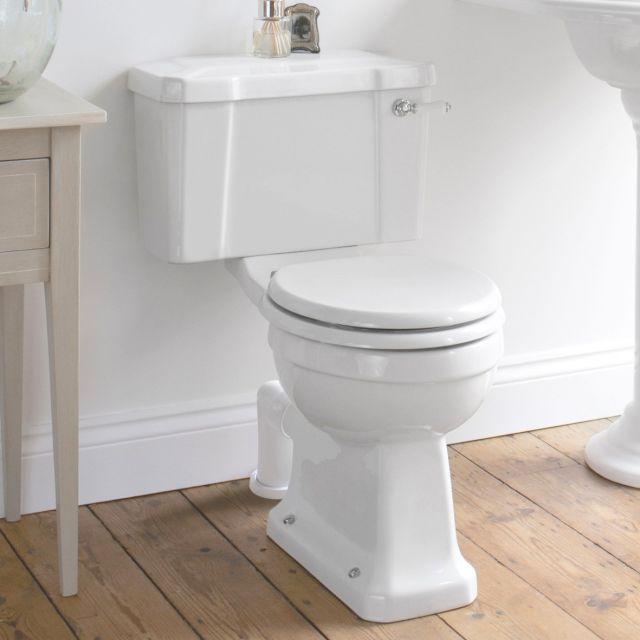 Burlington Regal Close Coupled Toilet