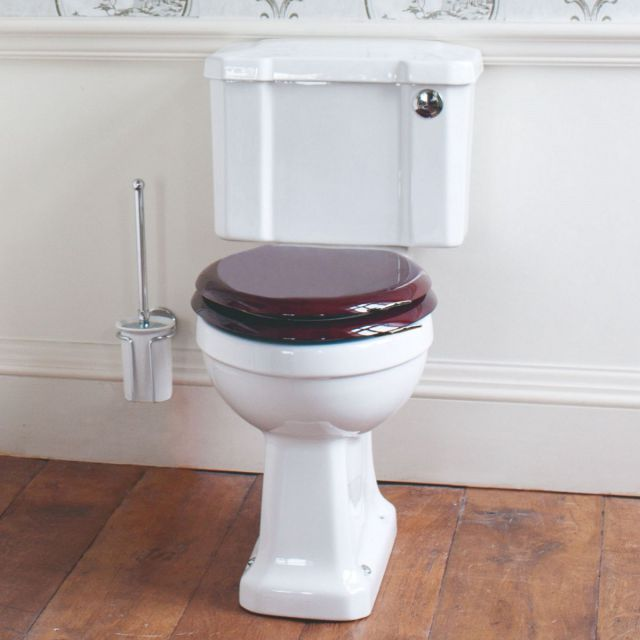 Burlington Slimline Rimless Close Coupled Toilet