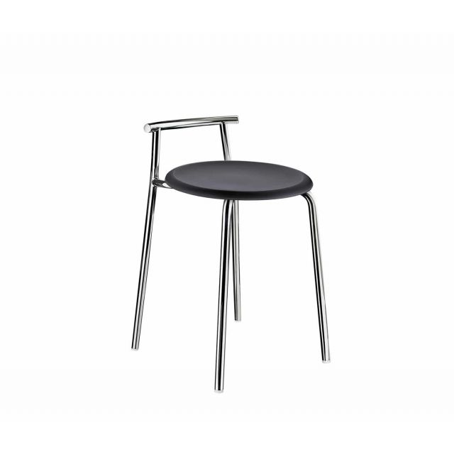 Smedbo Outline Black Shower Stool FK411