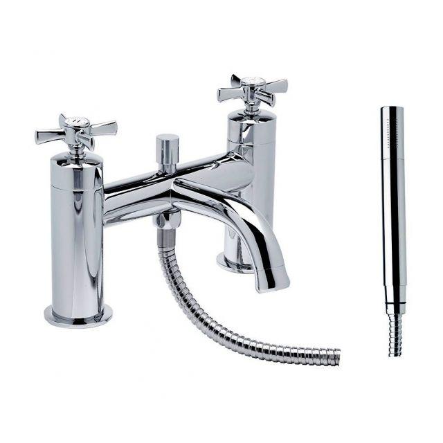 Tavistock Cheltenham Bath Filler with Shower Handset - TCM42