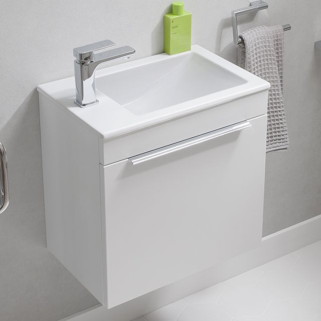 Crosswater Zion Petite Wall Hung Cloakroom Vanity Unit