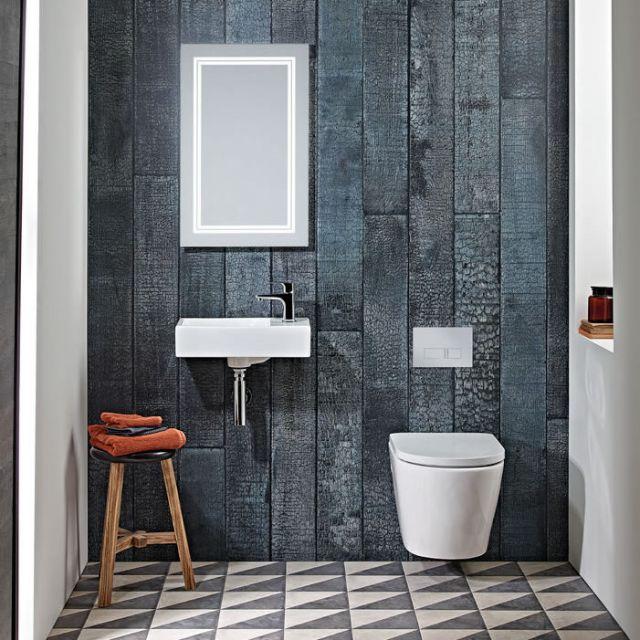 Tavistock Matrix Wall Hung Cloakroom Basin
