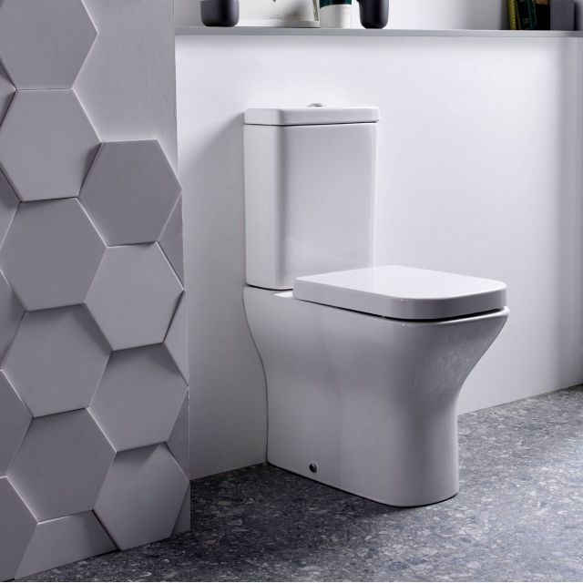Tavistock Structure Comfort Height Close Coupled Toilet