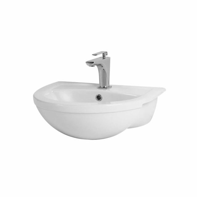 Phoenix Emma Semi-recessed Bathroom Basin