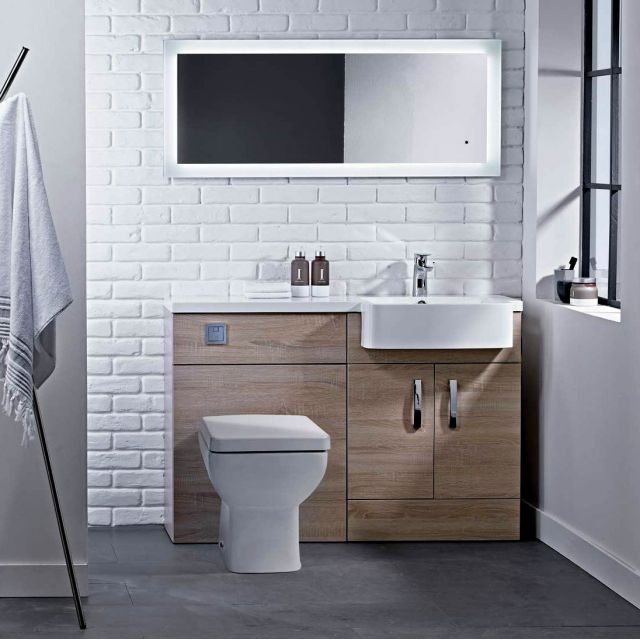 Tavistock Courier Vanity Combination Unit with Isocast Basin