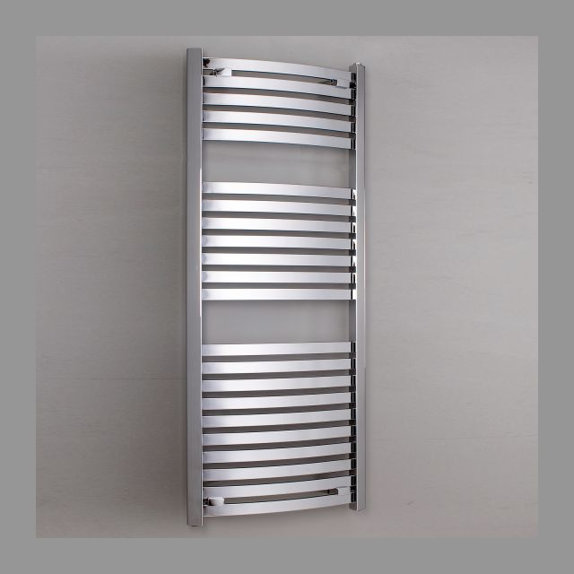 Phoenix Rochelle Chrome Curved Radiator