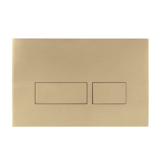 Crosswater MPRO Brushed Brass Flush Plate