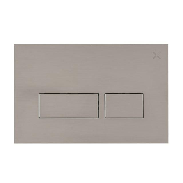 Crosswater MPRO Brushed Steel Flush Plate