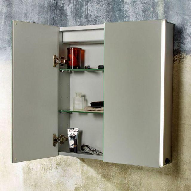 Tavistock Sleek Illuminated Mirror Cabinet