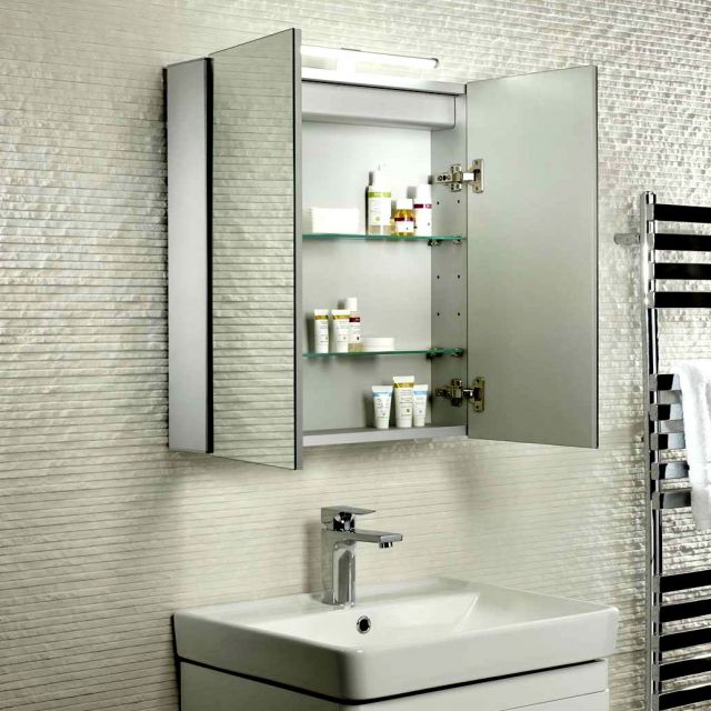 Tavistock Conduit Illuminated Mirror Cabinet