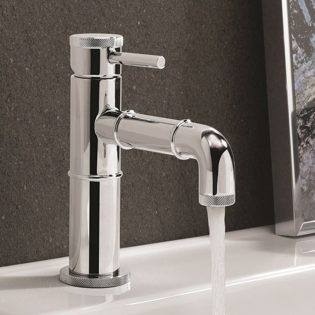 Crosswater MPRO Industrial Chrome Basin Tap