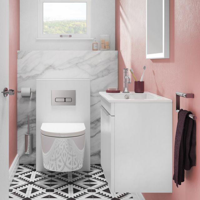 Crosswater Premium Cloakroom Suite : UK Bathrooms