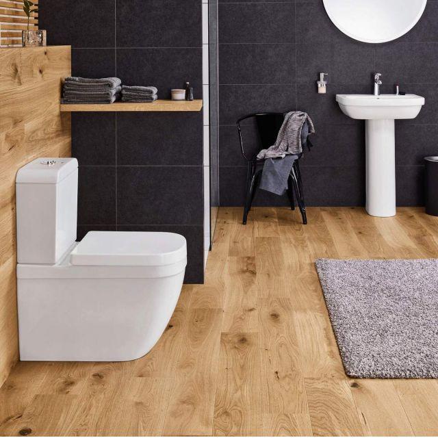 Grohe Euro Ceramic Close Coupled Rimless Toilet - 3933800H