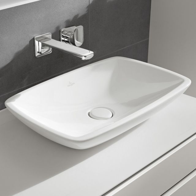 V&B Loop & Friends Rectangular Countertop Basin