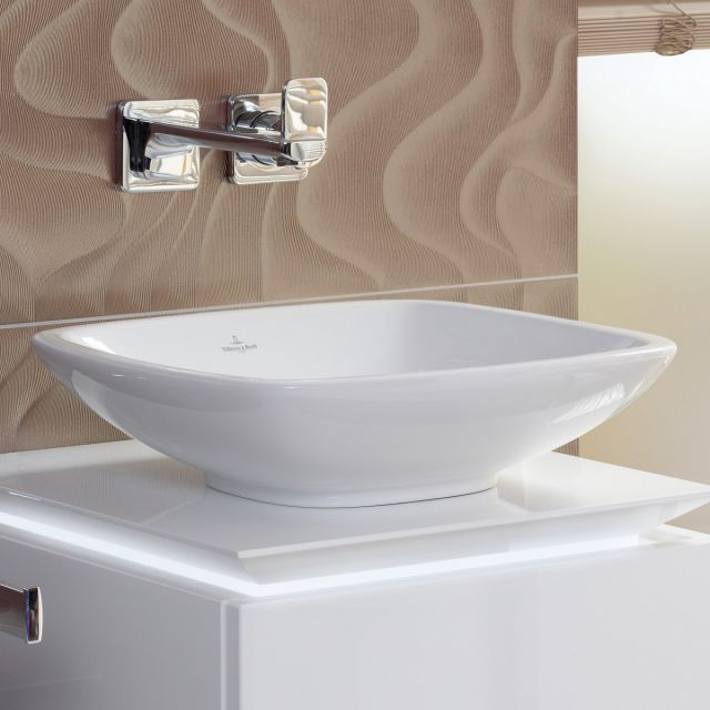 Villeroy and Boch Loop & Friends Square Surface Mounted Washbasin