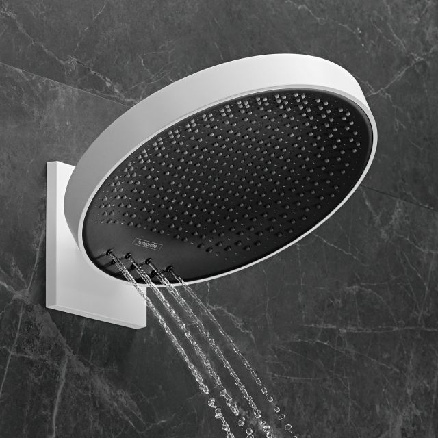 hansgrohe Rainfinity Overhead Shower 360 3 Jet With Wall Connector