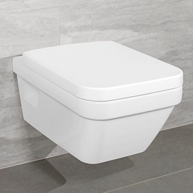 Villeroy and Boch Architectura Rimless Square Wall Hung WC - 5685R001