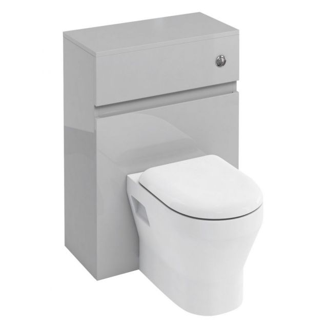 Britton D30 WC Unit with Flush Button for Back to Wall Toilets