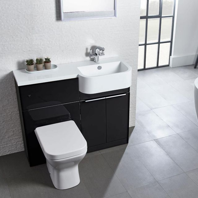 Tavistock Match Toilet and Sink Vanity Set