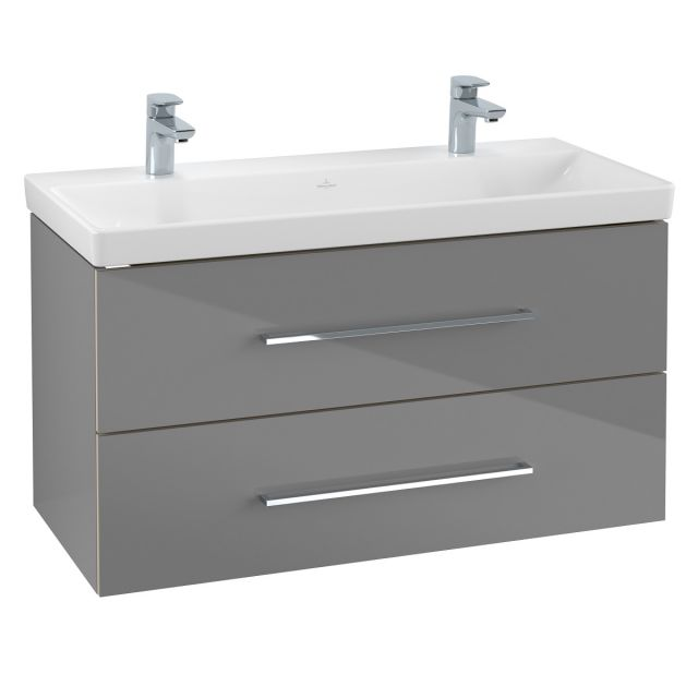Villeroy and Boch Avento Large Double Vanity Unit