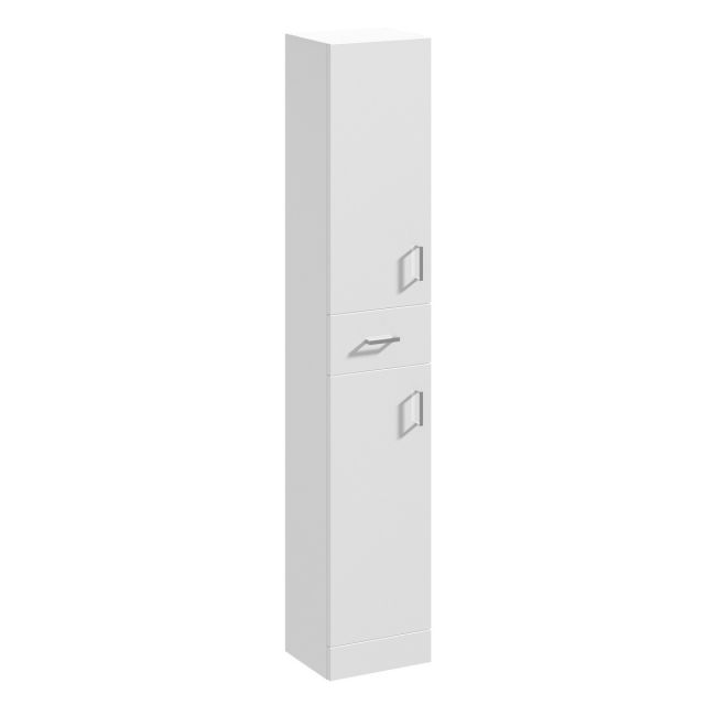 UK Bathrooms Essentials Newby 350mm Tallboy Bathroom Cupboard