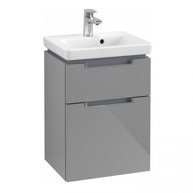Villeroy and Boch Subway 2.0 XXL Deep Cloakroom 2 Drawer Vanity