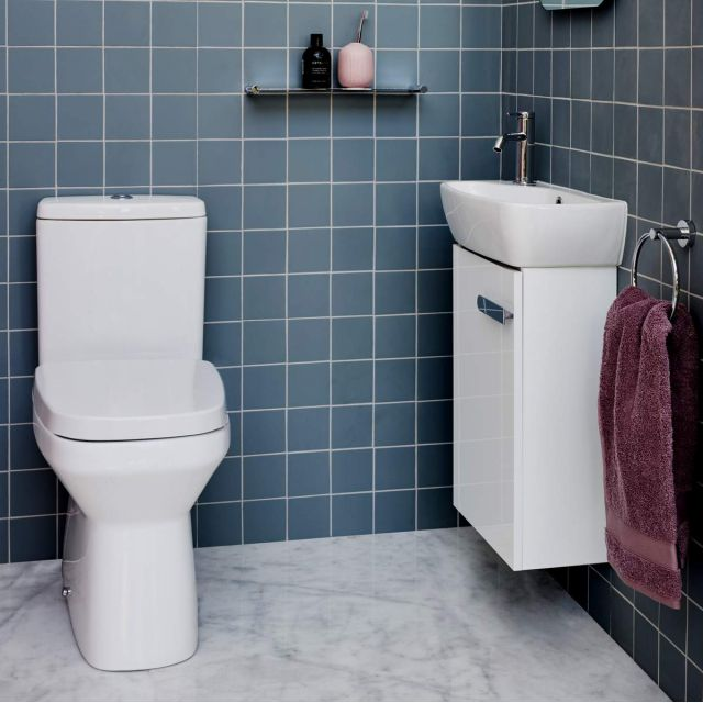 Britton MyHome Wall Hung Cloakroom Unit and Basin