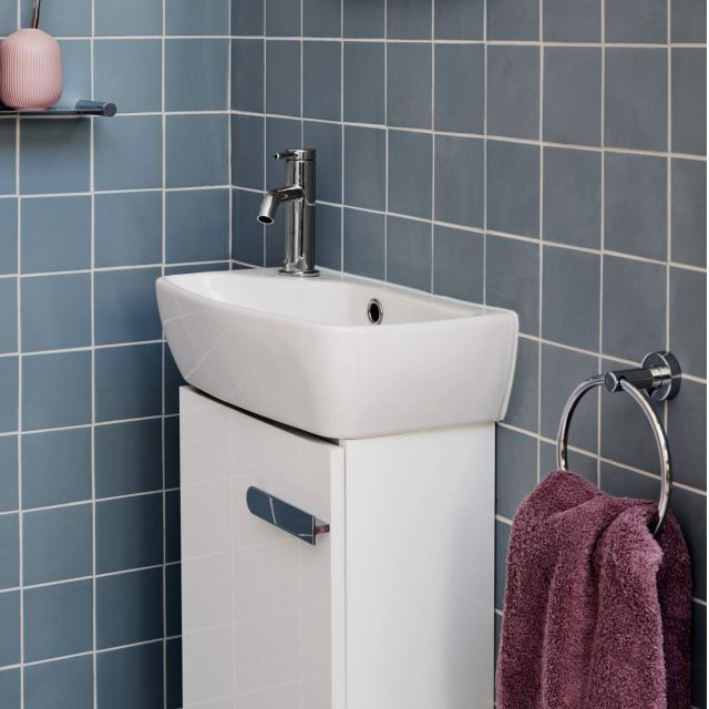 Britton MyHome Freestanding Cloakroom Unit and Basin