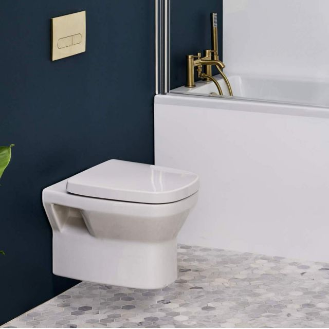 Britton MyHome Wall Hung Toilet - MYWHTW