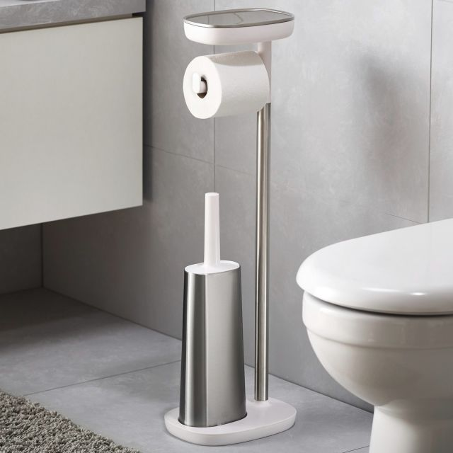 Joseph Joseph EasyStore Plus Standing Toilet Paper Holder - 70519