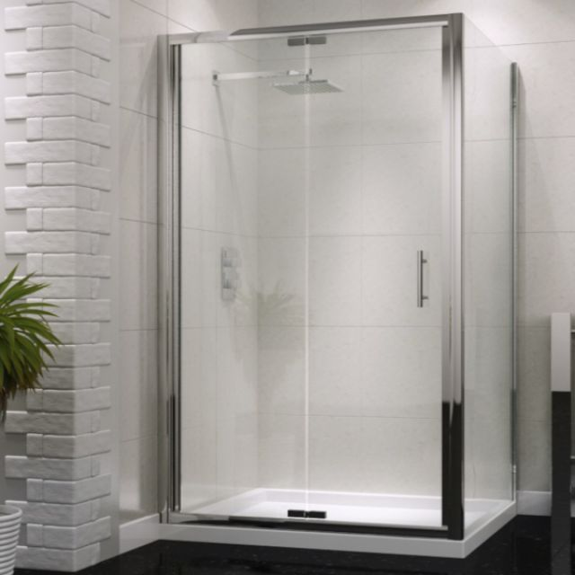UK Bathrooms Essentials Bi-Fold Shower Door