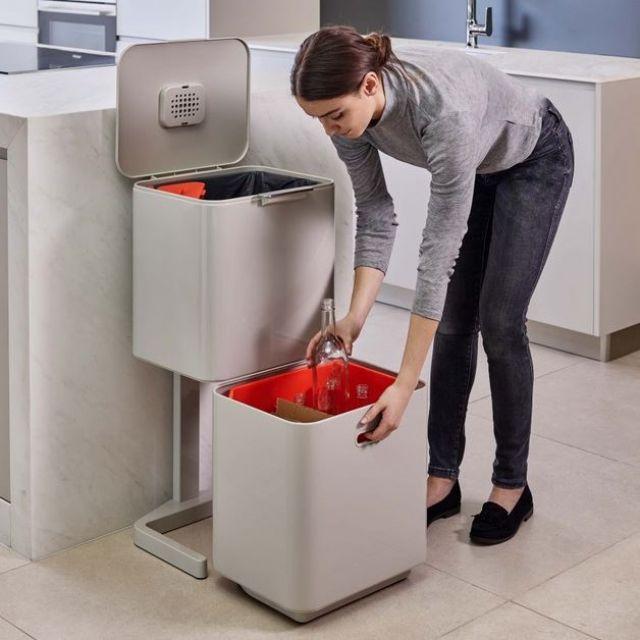 Joseph Joseph Totem 60 Waste Separation Recycling Bin Unit