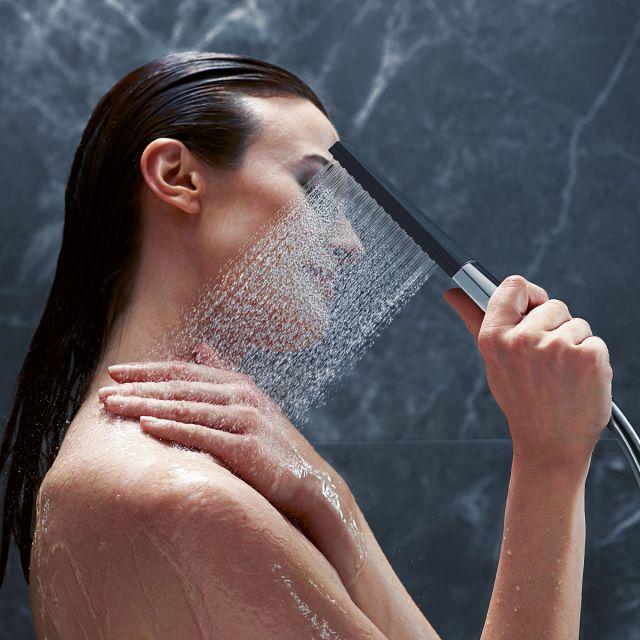 hansgrohe Rainfinity 100 1Jet Shower Holder Set - 26856000