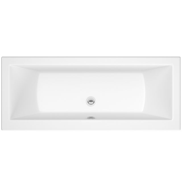 UK Bathrooms Essentials Tulip Double Ended Bath