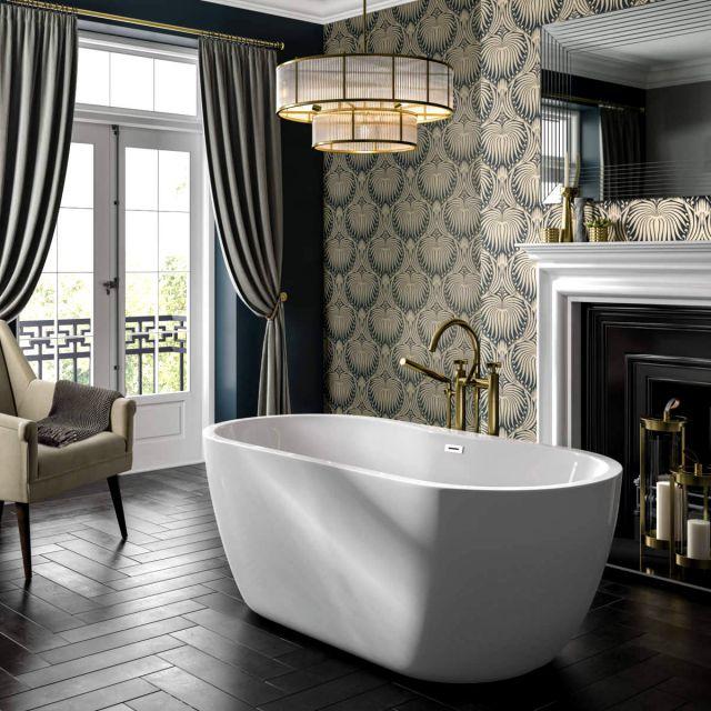 Trojan Alcora Freestanding Double Ended Bath