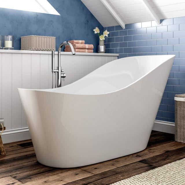 Trojan Winton Single Ended Freestanding Slipper Bath