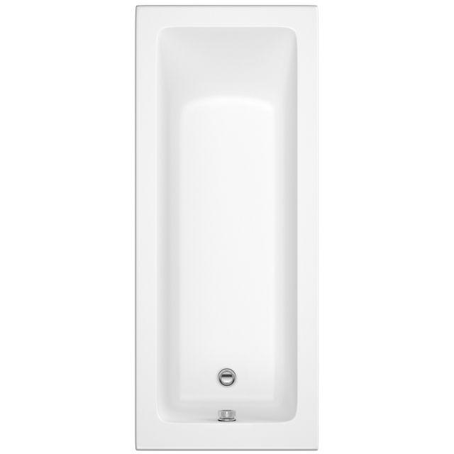 UK Bathrooms Essentials Daisy 1700mm Single Ended Bath - UKBESB00008